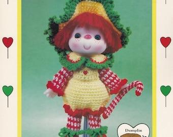 Peppermint Stick, Dumplin Designs Lollipop Lane Crochet Doll Pattern Booklet CDC412