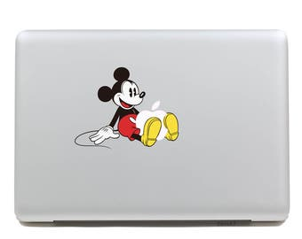 MacBook Decal | MacBook Sticker | Laptop Decal | Laptop Sticker | MacBook Air Pro Touch Bar 11 12 13 15 17 inch | Disney Mickey Mouse