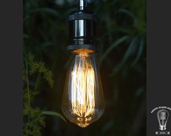 Vintage Edison Style Retro Tungsten Filament ST64 - 110V/40W Bulb