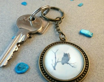 "Key fob ""Owl Nebula"""