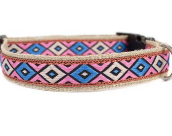 Dog collar / leash APACHE PINK