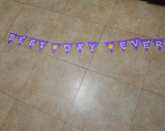 Best Day Ever Tangled Banner