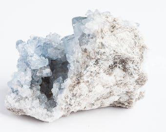 Celestite | Celestite Crystal | Celestite Cluster | Celestine | Celestite Geode | Raw Celestite | Raw Crystal | Healing Crystals | CEL46