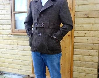 Norfolk Jacket in Donegal Herringbone Tweed.
