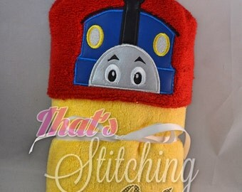 Thomas the Train Hooded Bath Towel