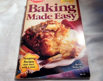 Betty Crocker Baking Made Easy Cookbook 1992