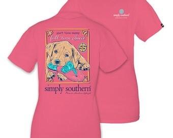"Simply Southern ""Sassy"" T-shirt W/ Monogram Option"