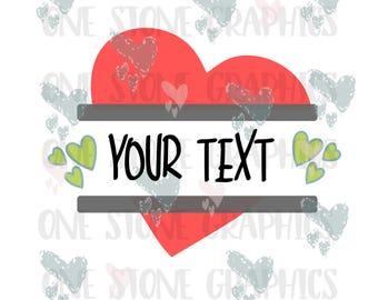 Heart split monogram svg,svg,monogram,image svg,image,heart,heart svg,valentines day svg,love svg,love monogram,valentines monogram svg file