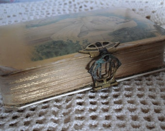 Beautiful, antique old German prayer book