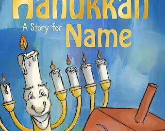 Personalised Hanukkah Story Book