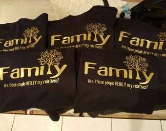 Custom Tshirt - Family Reunion