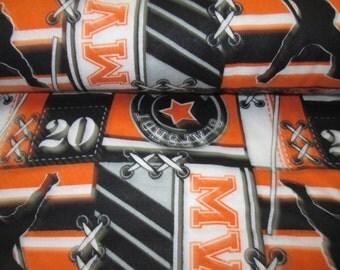 fabric flanel hockey