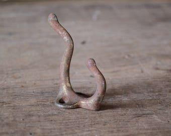 Old metal coat hook