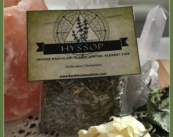 HYSSOP - Purification, Protection