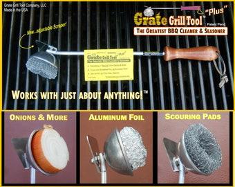 BBQ Grill Cleaner & Seasoner Tool...use on oven racks too!