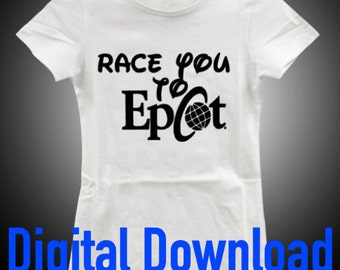 Race You to Epcot Digital Download