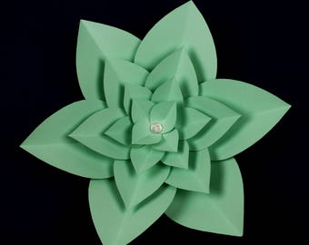 """X-Large, giant paper flower, large paper flower, big paper flower for any occasion """"LAYLA"""""""