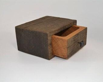 Salvaged Oak Box (1 of 7)