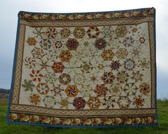 Patchwork quilt, blanket