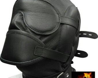 Real leather mask top quality