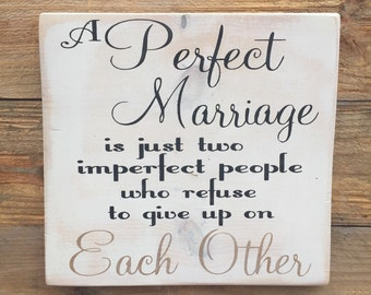 A perfect marriage,romantic quote.Gallery Walll art,Anniversary gift,Wood wall art,wall hanging,Wood sign saying,Wood decor,wedding