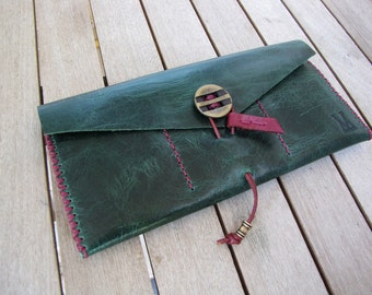 Leather Wallet / mobile case / iphone / HTC /Sony / Samsung / Hand Stitched Wallet / Handmade Wallet / Women's Gift / Style Wallet /