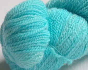 Lazy Perry Ranch Victory (light) Handdyed Pure Merino Lace yarn, 2.2 ounce skein 500 yards.  Beautiful knitted, woven, crocheted. Very Soft