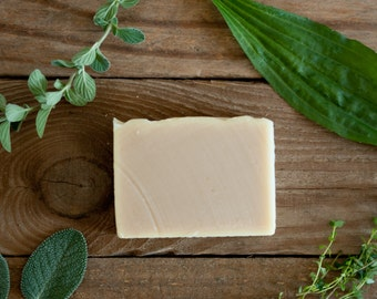 Triple Lavender Goat Milk Soap, Organic Soap, Farmstead Soap, Herbal Soap, All Natural Soap, Cold Process Soap