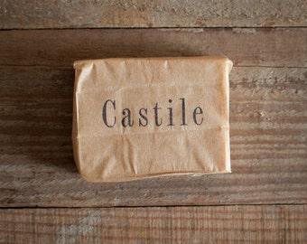 Castile Soap - Goat Milk Soap, Unscented Soap, Organic Soap, Farmstead Soap, All Natural Soap, Handmade Soap, Cold Process Soap, Baby Soap