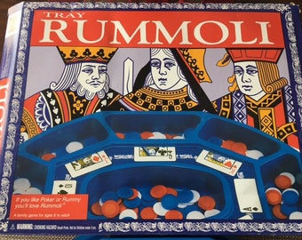 Vintage Tray Rummoli Game