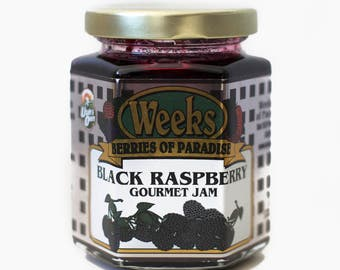 Black Raspberry Jam, Gourmet - Utah's Own, Preserves, Jelly, Marmalade