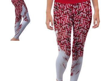 North Carolina State NC State Wolfpack Yoga Pants Designs