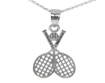 925 Sterling Silver Tennis Necklace