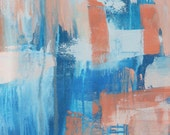 Ocean Shimmer 2 // Artist Charlie Albright // Blog Moments by Charlie | Modern Abstract Art Print, Wall Art1