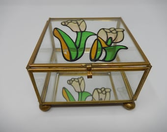 Old Art Deco Display Case