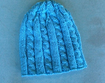 Large Cable Hat