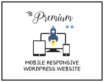 Mobile Friendly Web design | Wordpress Website Design  | Custom Website Design | Professional Web Design | Premium Web Design Package