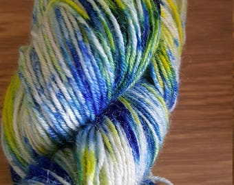 100g 4 Ply  100% Blue Faced Leicester - Sea Breeze