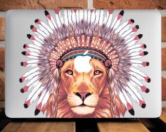 Lion Macbook Hard Case Macbook Pro 13 Case Macbook 12 Case Macbook Cover Macbook Air 13 Case MacBook Case Macbook Air 11 Macbook 12 WCm203