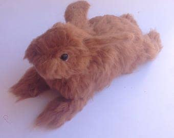 Brown Rabbit - Needle Felted Brown Bunny - Realistiz Life size rabbit