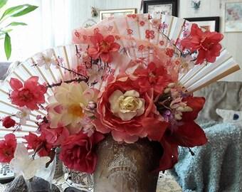 Headpiece - cherry blossom Geisha