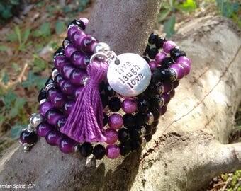 Bohemian Bracelet, Gypsy Wrap Bracelet, Memory Wire Bracelet, Statement Bracelet, Cuff Bracelet, Crystal Bracelet, Wrap Bracelet