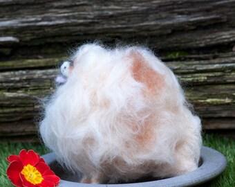OOAK Needle Felted Pomeranian