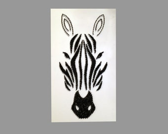 String Art- Zebra