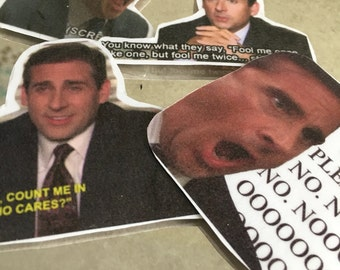 Micheal Scott The Office Stickers