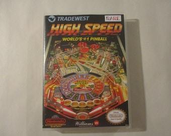 High Speed  Custom NES - Nintendo Case (No Game)