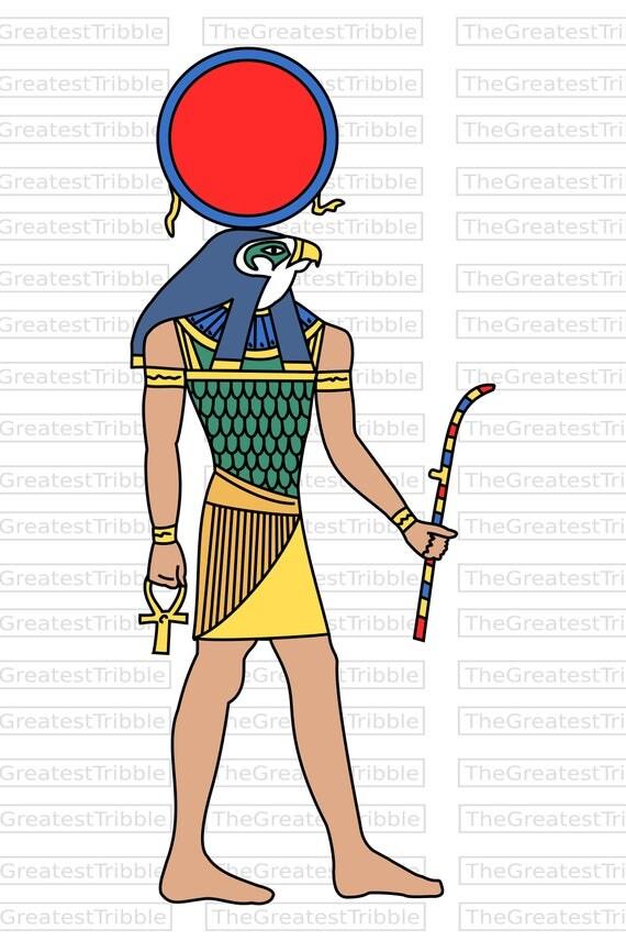 Ra Egyptian God Clip Art Svg Png Jpg Vector Graphic Clip