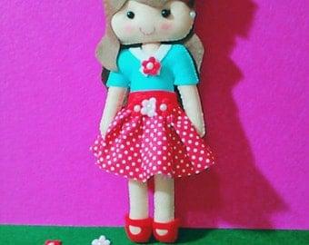 doll felt - hobby puppets