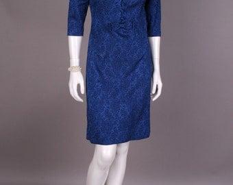 60s cocktail dress, Gr. 36