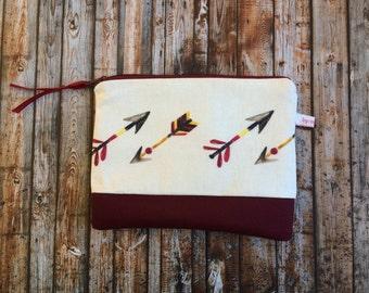 Pencil case / cosmetics bag • arrow •